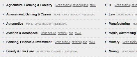 Casinos News Monitoring Service & Press Release Distribution